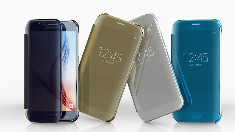Samsung Clear View Cover galaxy s6
