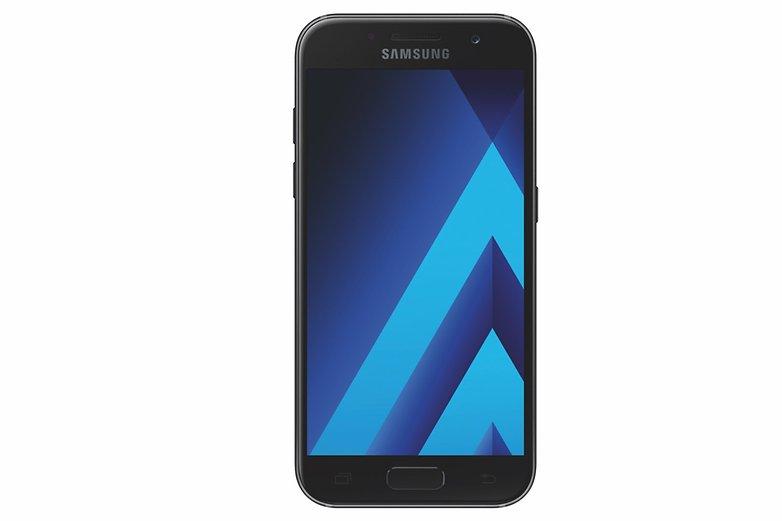 Samsung Galaxy A3 2017 SM A320F black sky front