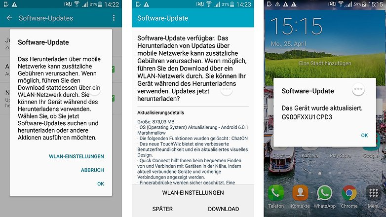 neue software android