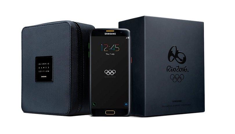Avec son Galaxy S7 edge version Jeux Olympiques, Samsung arrive enfin à nous surprendre