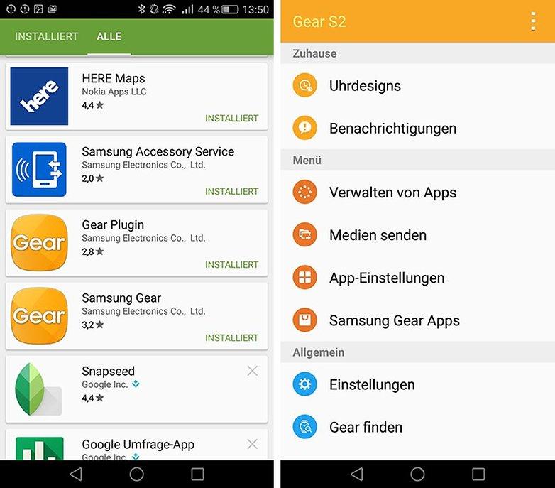 Samsung Gear S2 App 1