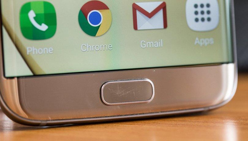 El botón de inicio del Samsung Galaxy S7 tiene un problema