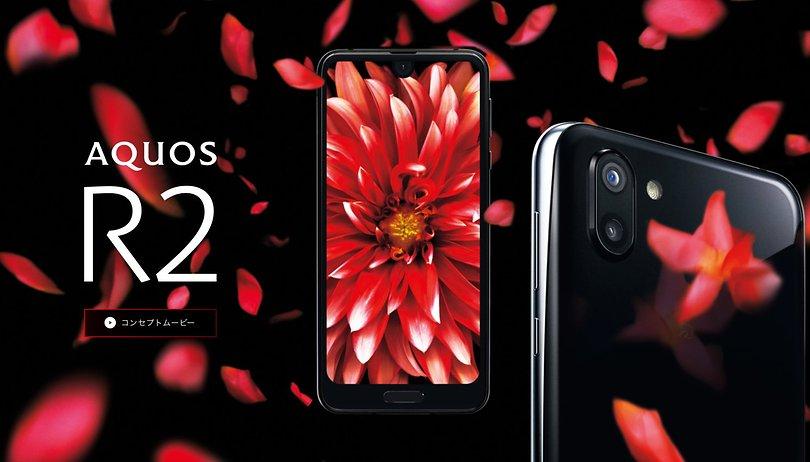 Sharp Aquos R2: Der japanische Smartphone-Mix aus iPhone X und Essential Phone
