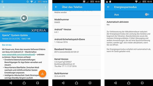 Sony Xperia Z3 Android Updates Installieren Androidpit