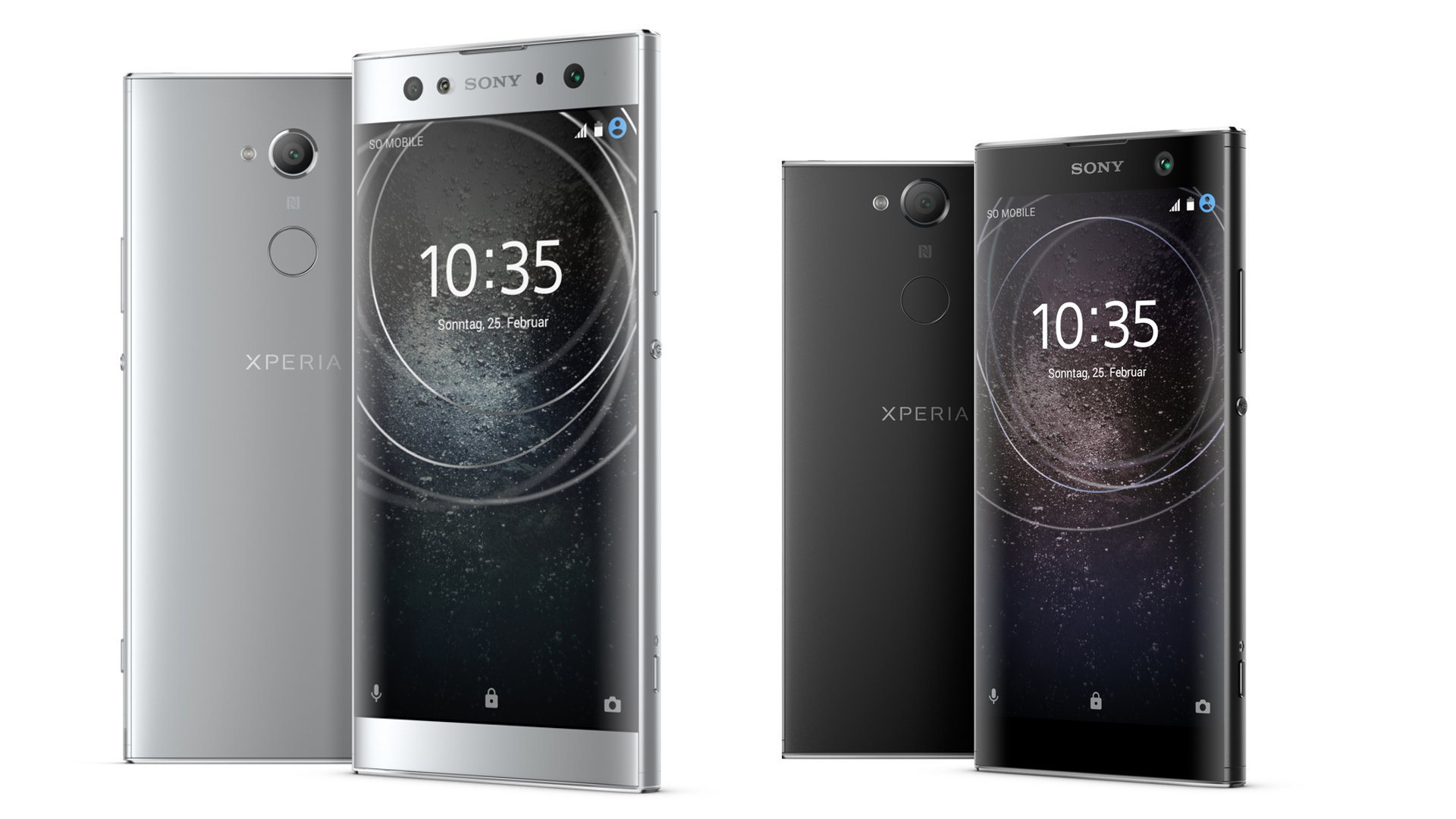 sony xperia xa2 and xa2 ultra first step in a new direction androidpit. Black Bedroom Furniture Sets. Home Design Ideas