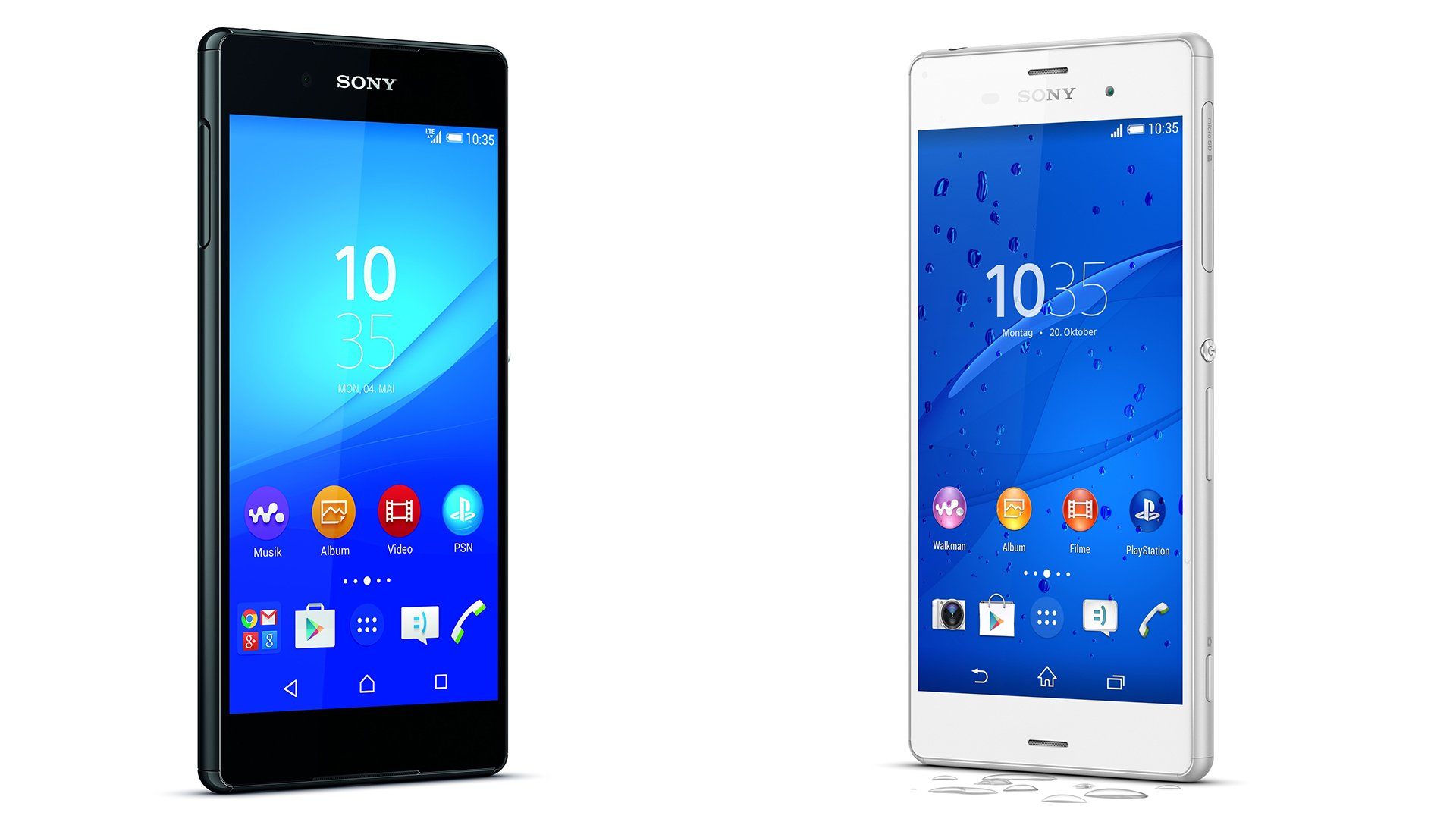 Sony Xperia Z3 vs Xperia Z3 pact Welches Xperia ist das bessere