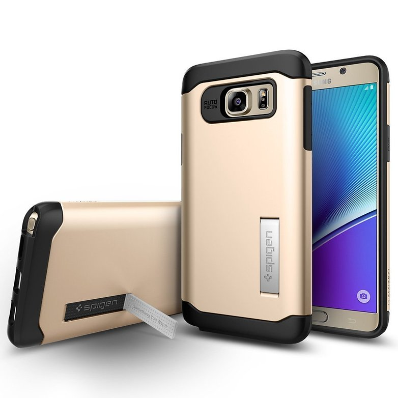 Spigen Slim armor case fuer galaxy note 5