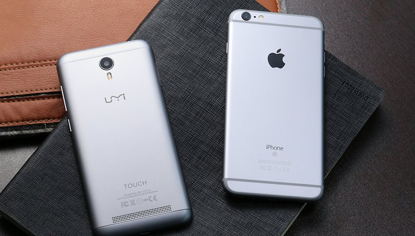 Umi Touch vs iPhone 6s Plus: David contra Goliat