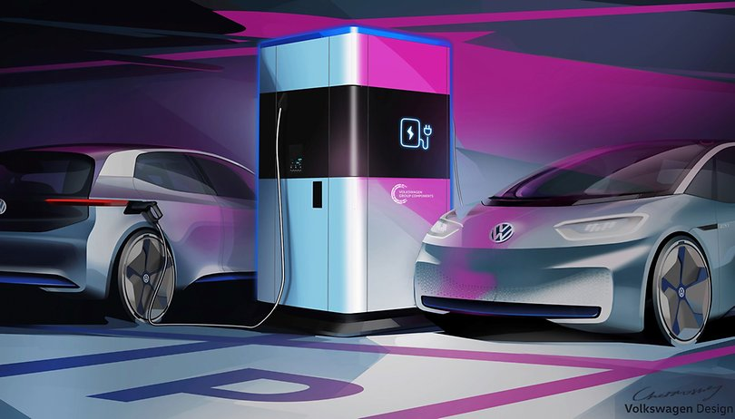 Powerbanks for electric cars: Volkswagen announces mobile charging station