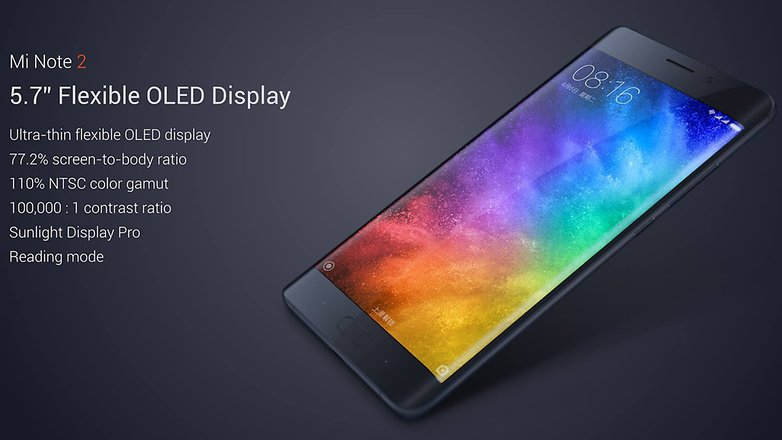 Xiaomi Mi Note 2 Display 2
