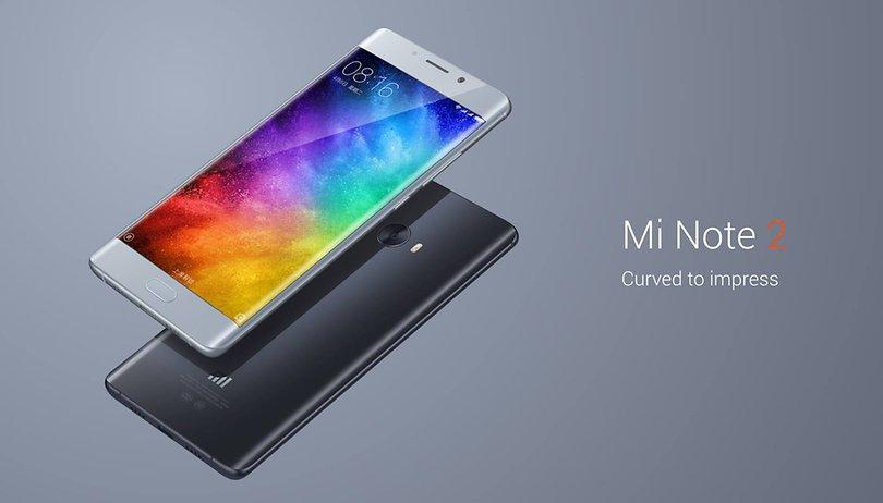 Xiaomi Mi Note 2: Chinesisches Dual-Edge-Smartphone offiziell vorgestellt