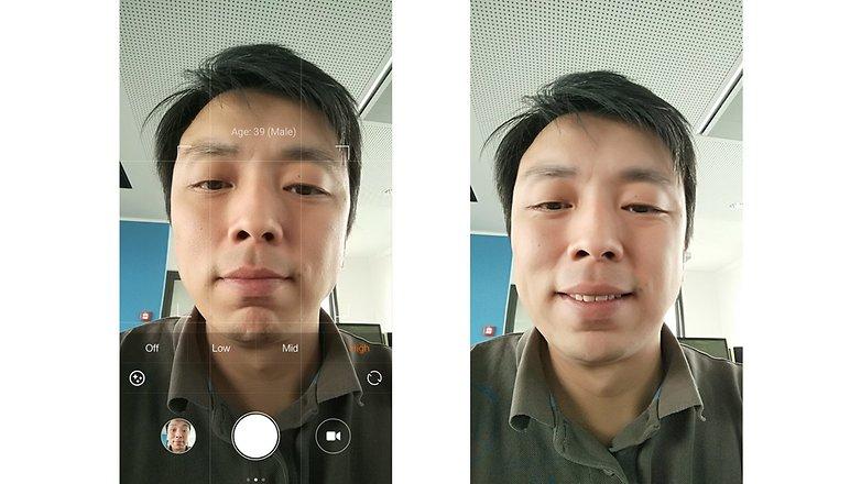 Xiaomi mi note pro frontkamera