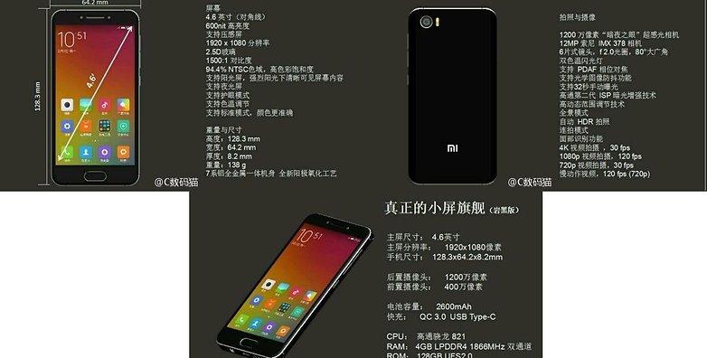 Xiaomi mi s leak 2