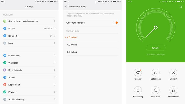 Xiaomi Mi Note Pro MIUI 3
