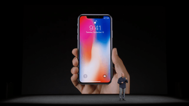 apple keynote iphone x 13