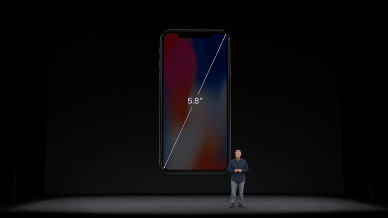 apple keynote iphone x 16