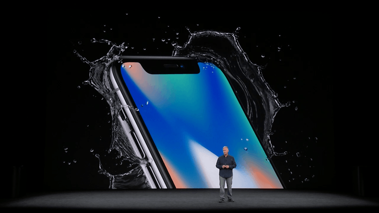 apple keynote iphone x 17