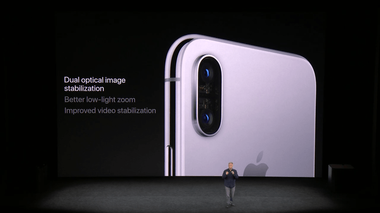 apple keynote iphone x cam 2
