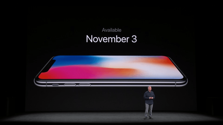 apple keynote iphone x price 2