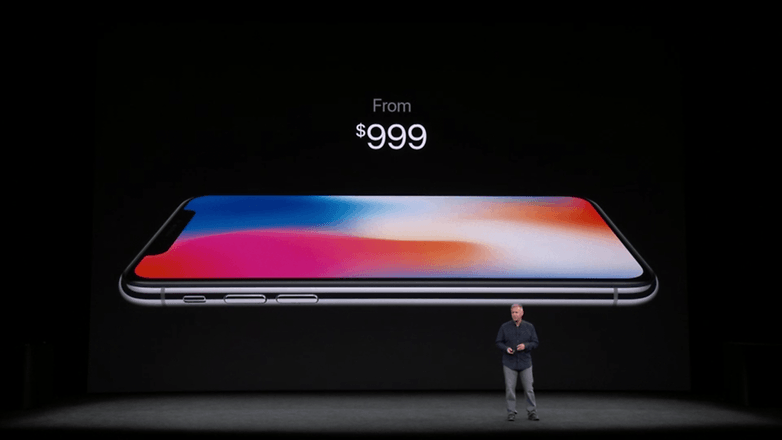 apple keynote iphone x price 5