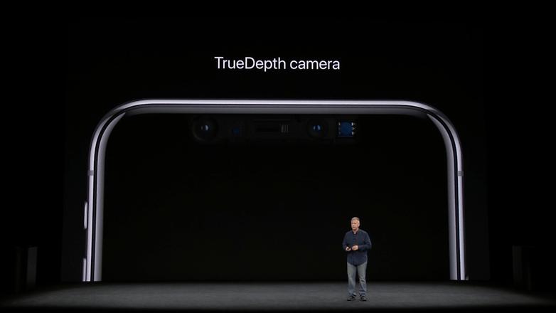 apple keynote iphone x selfie cam