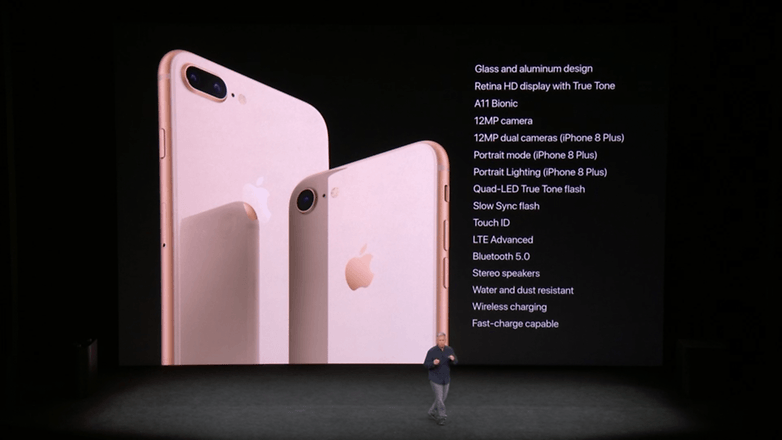 apple keynote iphone x specs