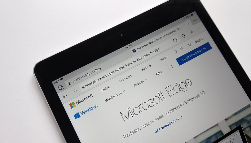 Microsoft warnt im mobilen Edge-Browser vor Fake News