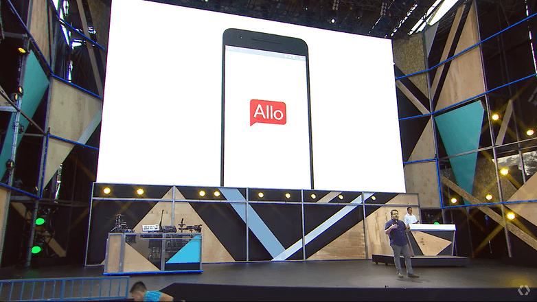 google io keynote 2016 allo