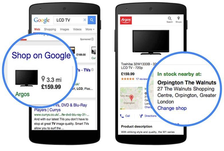googles mobile anzeigen
