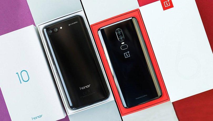 Wird das Honor 10 das OnePlus 6 in den Schatten stellen?