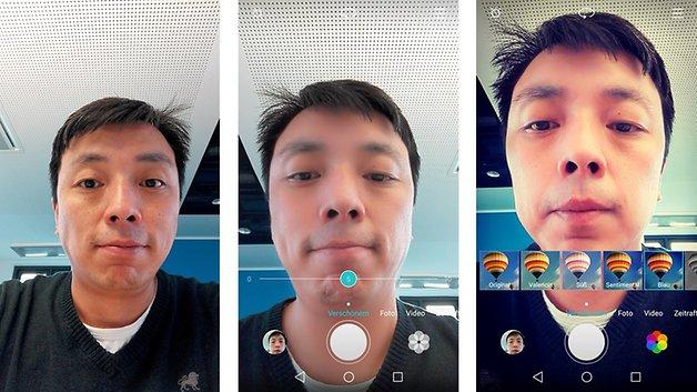 Testbild vom Huawei P8 Lite