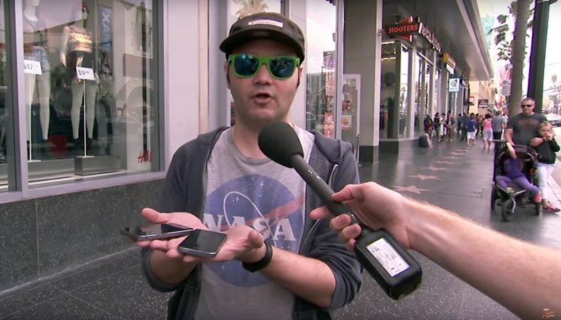 iPhone SE vs iPhone 5s: Jimmy Kimmel lässt die kleinen iPhones von Passanten testen