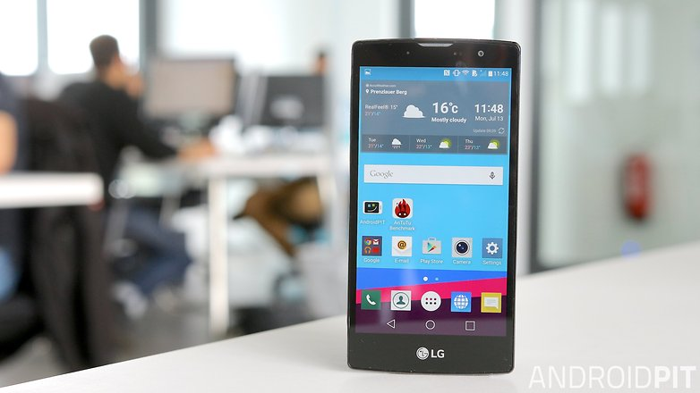 lg g4 compact front display screen