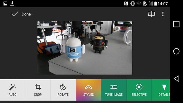LG g4c Kamera Testbild