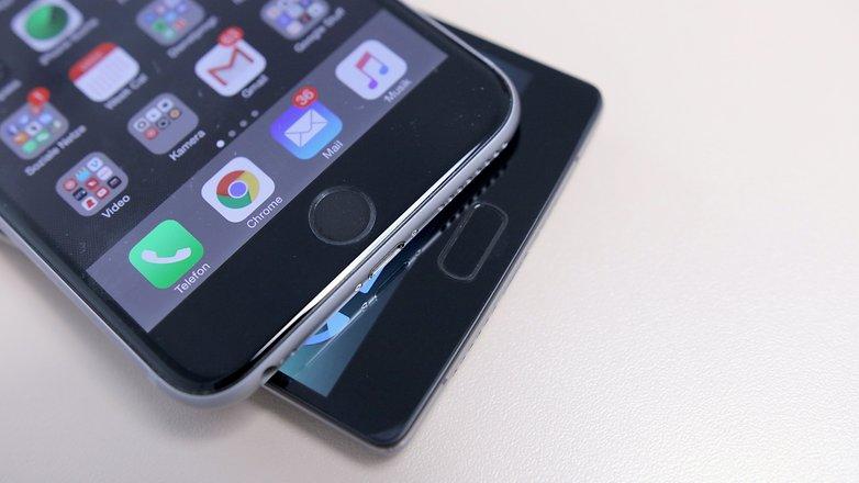 oneplus 2 iphone 6 plus finger scanner 2