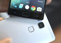 Showdown der Fingerabdruck-Scanner: OnePlus 2 vs. Huawei Ascend Mate 7