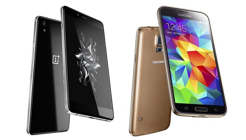 OnePlus X vs Galaxy S5: Chinesisches Topmodel vs koreanisches Top-Modell