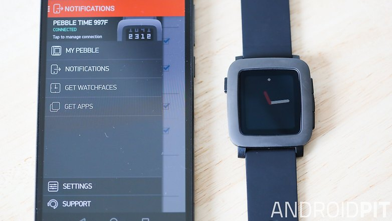 pebble time smartwatch test 14