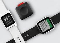 Pebble bietet drei neue Produkte auf Kickstarter an