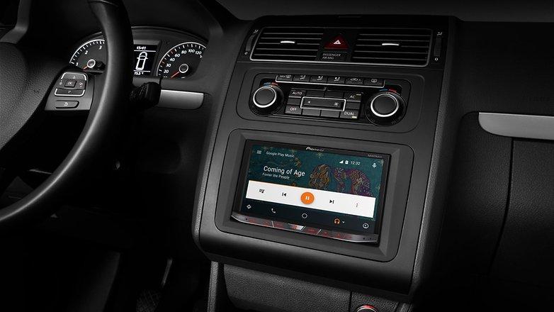 pioneer avh x8700b androidautoui music