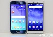 Samsung Galaxy S6 vs. Huawei P8: Ist das China-Smartphone besser?