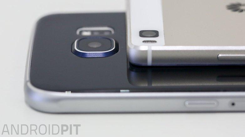 samsung s6 vs Huawei p8 rear camera
