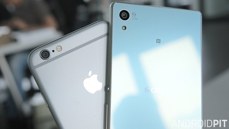 sony xperia z3 plus vs apple iphone 6 camera