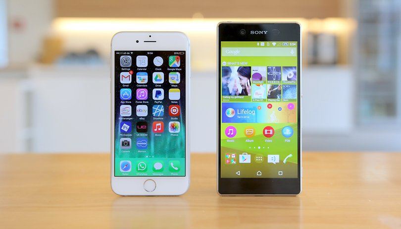 Sony Xperia Z3+ vs. iPhone 6: comparativo dos belos