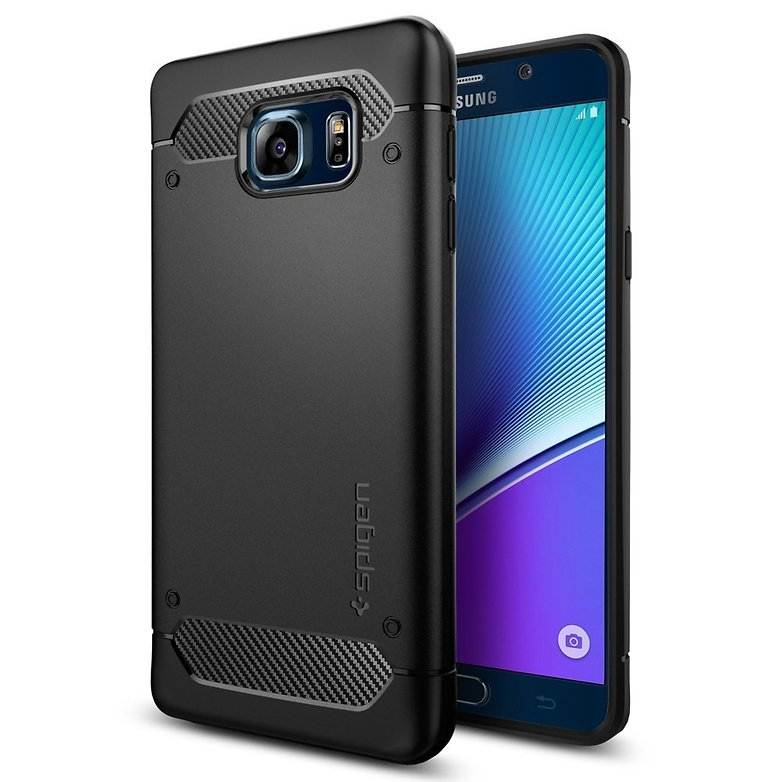 spigen ultra rugged case fuer galaxy note 5