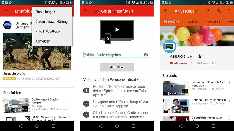 youtube smartphone