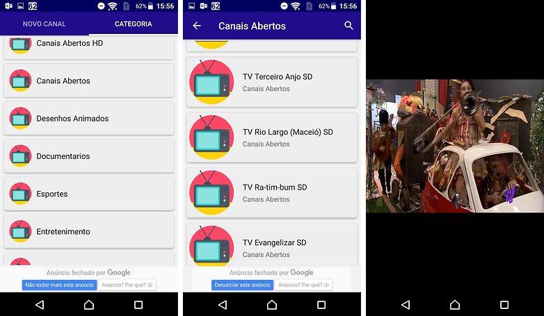 Os melhores aplicativos para assistir TV no seu Android