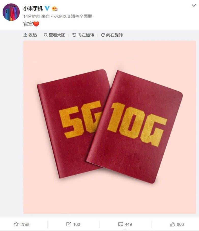 Xiaomi Mi Mix 3 10GB