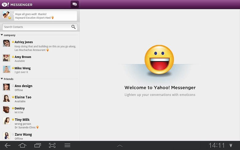 Yahoo Messenger download