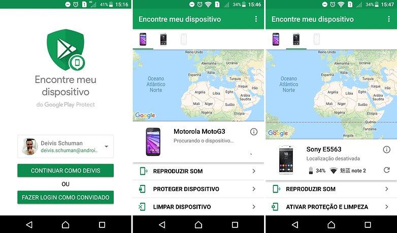 Rastrear Pelo Google Android